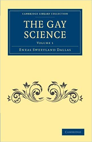 Book The Gay Science 2 Volume Set: The Gay Science, Volume 1 (Cambridge Library Collection - Spiritualism and Esoteric Knowledge) by Eneas Sweetland Dallas (2011-05-19)