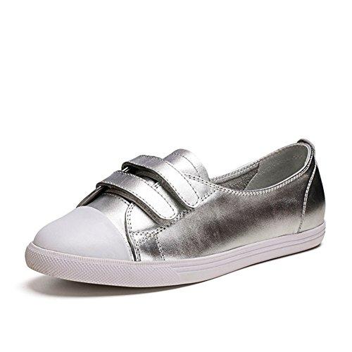 escoge los zapatos/ plana redonda cabeza zapato comodín blanco/Magia verano ocio zapatos asakuchi B
