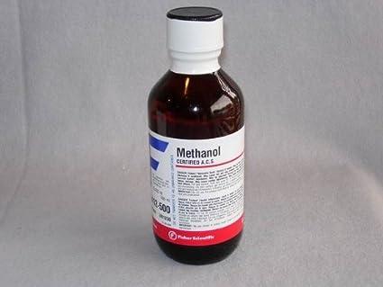Methyl Alcohol (ACS) Anhydrous - 500 mL (1 x 500 mL): Amazon