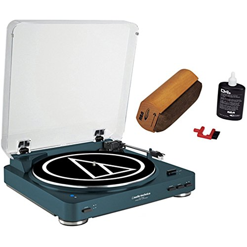 Audio-Technica Wireless Belt-Drive Stereo Turntable with RCA
