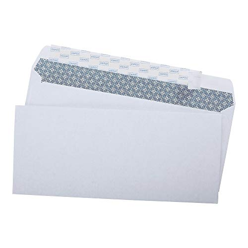 - Staples; #10, EasyClose Privacy -Tint Envelopes, 500/Box
