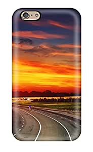 RoMfo4458fqPdN Alicarty Highway Sunset Durable Iphone 6 Tpu Flexible Soft Case