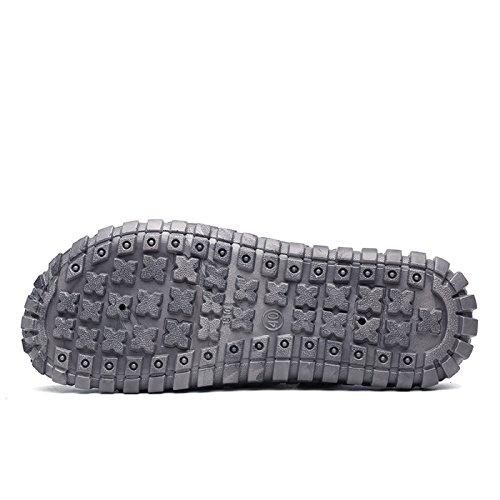 Sabot Pantofole Casual T Respiranti Grigio Estate Nero Scarpe Gold da Sandali Zoccoli Unisex Spiaggia Clogs Adulto E C7wqOg