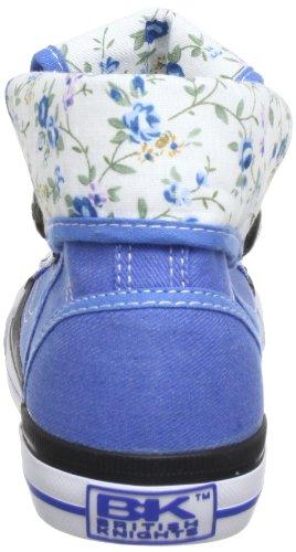 British Knights REXES HI Damen Hohe Sneakers Blau (blue/flower SMU 02)