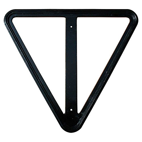 Qualarc YIELD-30-BLK Decorative Cast Aluminum Rust Free 30