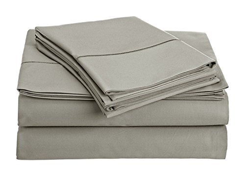 Chateau Home Collection 800-Thread-Count Egyptian Cotton Deep Pocket Sateen