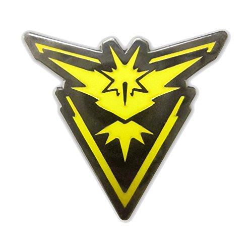 INSTINCT PokemonGo Team Pin Mystic Instinct Valor Badges Articuno Moltres Zapdos