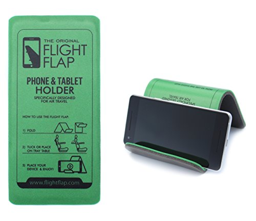 Flight Flap Phone & Tablet Holder, Designed for Air Travel - Flying, Traveling, in-Flight Stand for iPhone, Android and Kindle Mobile Devices