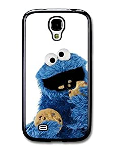 Cookie Monster Muppet Eating Biscuits with White Background case for Samsung Galaxy S4