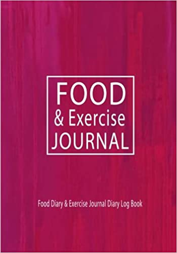 food and exerrcise journal food diary exercise journal diary log