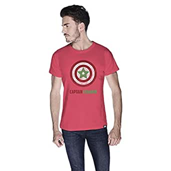 Creo Captain Lebanon T-Shirt For Men - L, Pink