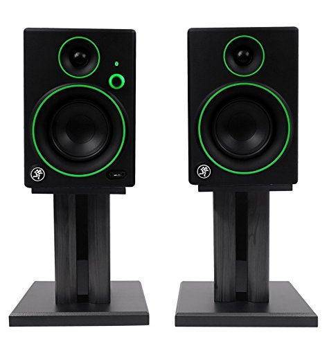 Studio Monitors/Computer Speakers w/Bluetooth+Desk Stands ()