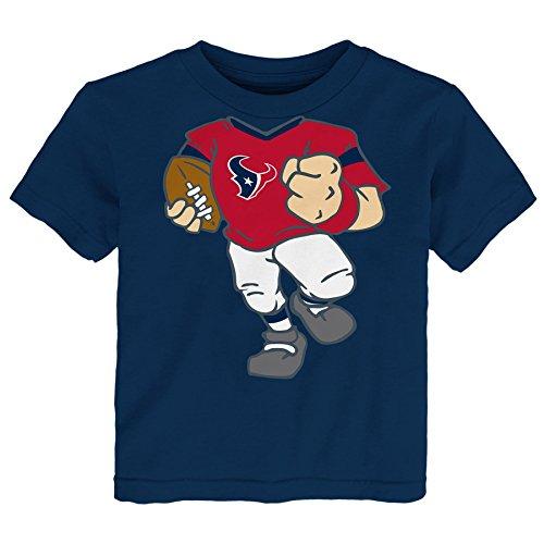 Outerstuff NFL Toddler Dream Football Short Sleeve Tee, Houston Texans, Deep Obsidian, 2T