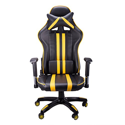 CO-Z Ergonomic High Back Padded PC Computer Racing Adults Gaming Chair with Armrests, Wide Seat Cushion