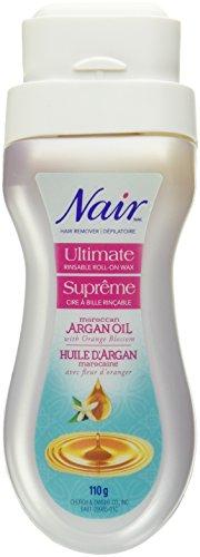 Nair Ultimate Roll On Body Wax Argan Oil 110G