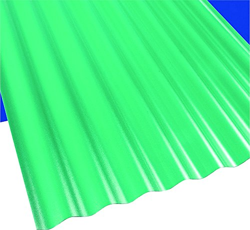 Palram Americas, Inc. 108977 Poly Carbonate Panel - - Panel Corrugated