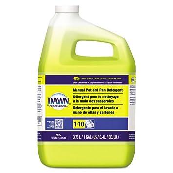 Dawn Professional 57444EA Manual Pot & Pan Dish Detergent Lemon