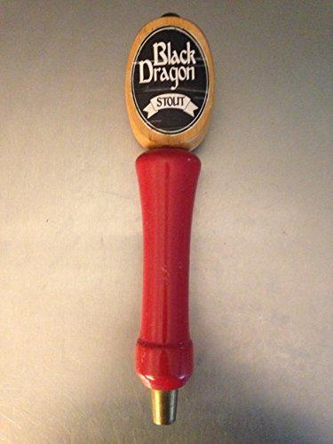 Black Dragon Stout Beer Tap Handle