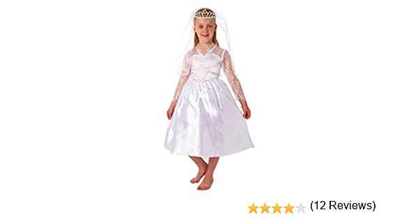 Christy`s - Disfraz de novia para niña, talla 3-5 años (995020 ...
