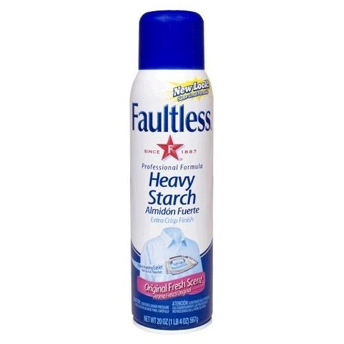 Faultless Heavy Starch Original Fresh 20 Ounce (Pack of 24) by Faultless