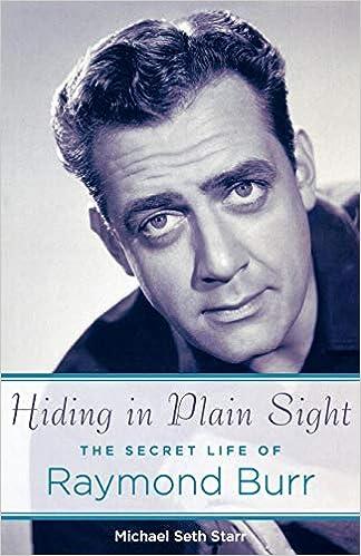 Hiding In Plain Sight The Secret Life Of Raymond Burr Applause