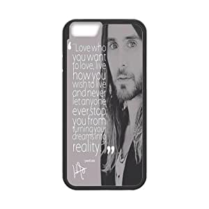 Onshop Custom Jared Leto (30 Seconds To Mars) Phone Case Laser Technology for iPhone 6 4.7""