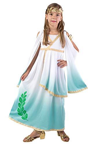 spooktacular creations deluxe greek goddess costume set for kids girls