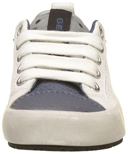 Sneaker Bianco Geox Boy Bambino Alonisso white navy B J qgABAazw