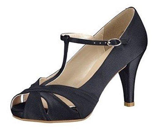 Peeptoe de Patrizia Dini - de color negro Nero (nero)