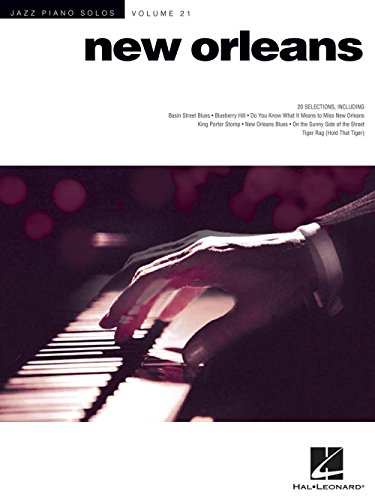 Hal Leonard New Orleans - Jazz Piano Solos Series Vol. ()