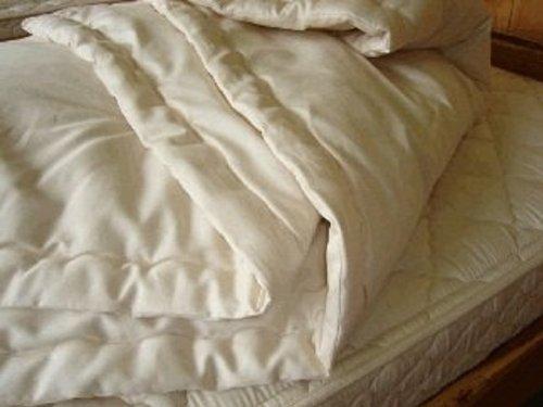 (Holy Lamb Organics Wool Comfortor (Crib Comforter - Cool Comfort))