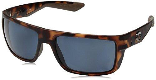562097b27289b New Costa Del Mar MTU 01 Motu Matte Retro Tort Square Sunglasses for ...