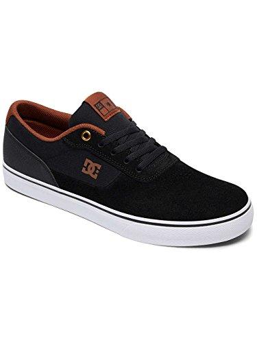 Blanco Zapatillas DC Negro para de Switch hombre Shoes ADYS300104 Marrón skate S twztqxvS1r