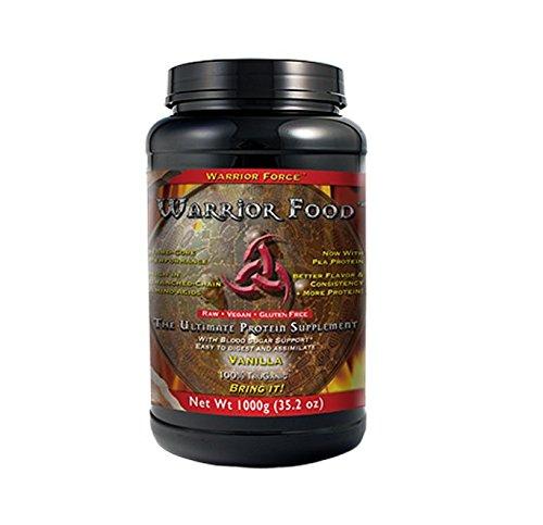 Healthforce Warrior Food, Vanilla, 1000 Grams (Packaging may vary, versions may vary)