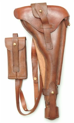 Luger P08 Artilery Holster with shoulder stock. NORTHRIDGE for sale  Delivered anywhere in USA