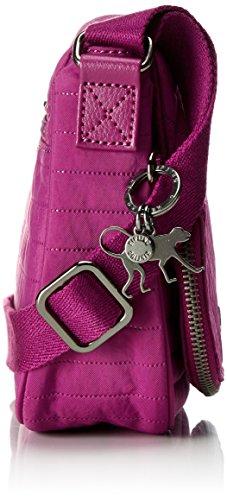 Bolso S Kipling Wild bandolera Earthbeat Pink Rosa Mujer 41CEn1Rqwx