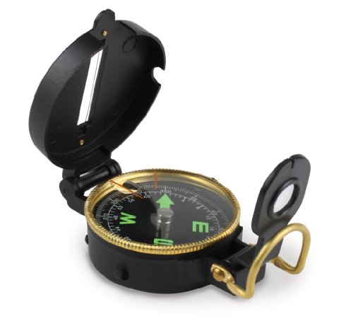 Stansport Metal Lensatic Compass - Metal Lensatic Compass