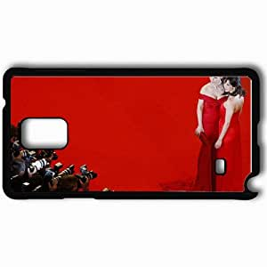 Personalized Samsung Note 4 Cell phone Case/Cover Skin Actress Black