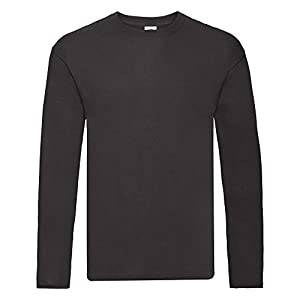 Fruit of the Loom Mens Original Long Sleeve T-Shirt