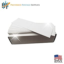 Preferred Postage Supplies 300 Postage Meter Sheets 6 x 1.75 Compare to Pitney Bowes 625-0 Two labels per sheet.(NOT FOR USE IN dm300C/400C/450C/ AND 475C )
