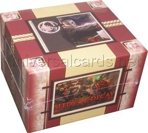 Legend Of The 5 Rings L5r - Seeds Of Decay Booster Display (48 Pkts)