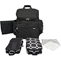 Terra Baby Diaper Bag Backpack Organizer with Stroller Straps and Changing Pa...