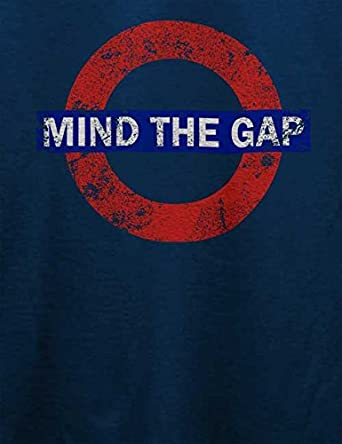 shirtminister Mind The Gap Vintage Camiseta Tamaños: Amazon.es: Ropa y accesorios
