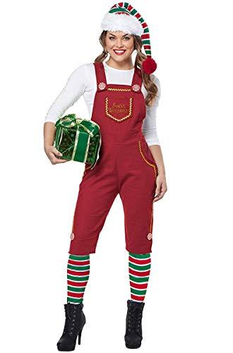 California Costumes Santas Workshop Elf Costume