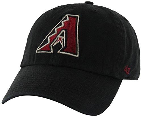 fan products of MLB Arizona Diamondbacks '47 Brand Clean Up Home Style Adjustable Cap, One Size, Black