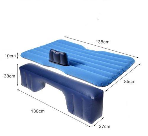Colchón inflable para asiento trasero, para camping, coche, cama ...