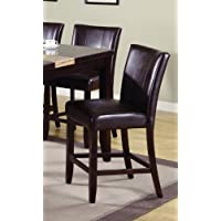 Madrid Counter Height Chair (Set of 2) by Crown Mark