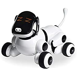 Contixo Puppy Smart Interactive Robot Pet Toy for Kids, Voice, App, and Touch Controlled - Memorial Day Sale