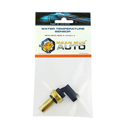 Mean Mug Auto 13518-32019B Coolant Temperature Sensor with O-Ring - For: Mercedes-Benz - Replaces OEM #: 000-542-51-18 ()