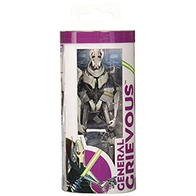 Star Wars Galaxy of Adventures General Grievous 3.75-Inch-Scale Figure Toy and Mini Comic – Learn About: Toys & Games